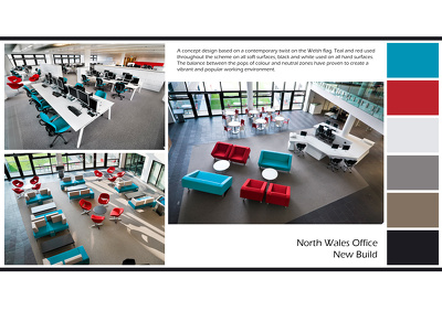Design your office interior for £500