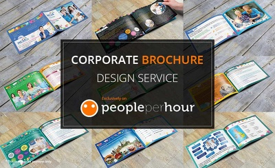 I will design Creative Corporate Business BROCHURE