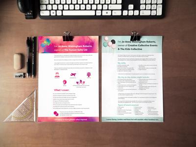Design your CV