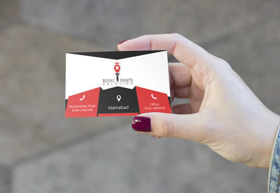 Make a stunning business card front + back