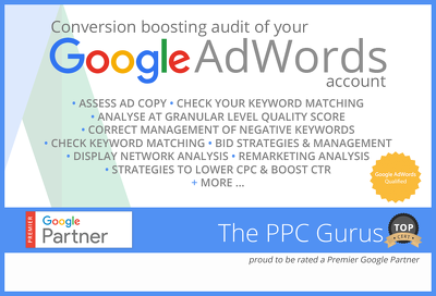 Produce a Conversion Boosting Audit of your Google Adwords Acccount