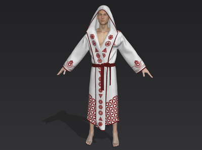 Create a realistic 3D visualization of your clothing design