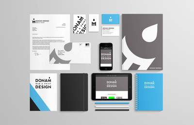 Design your business logo + business card+ brochue/flyer+ illustration+ ebook design