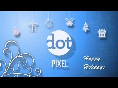 Create Winter Holiday Logo Ident Animation for Christmas