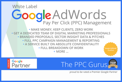 White Label Google Adwords Pay Per Click (PPC) Management