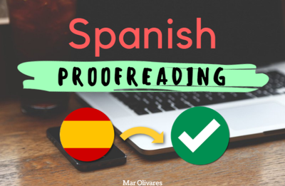 Proofread 1000 words in Spanish