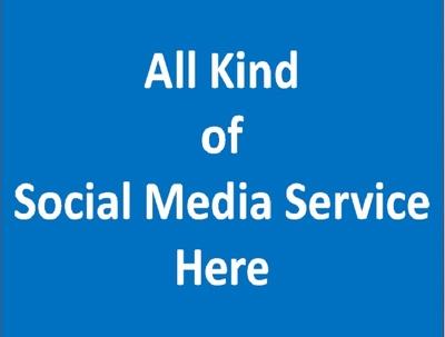 Provide social media Service
