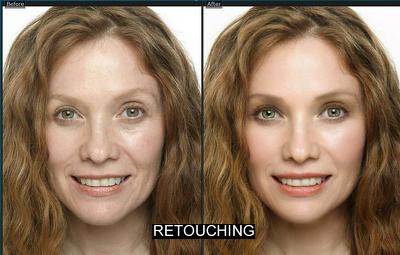 professionally do Photoshop retouching