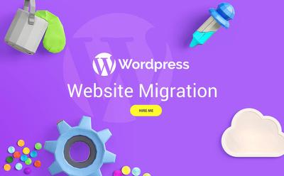 WordPress Website Migration ☺