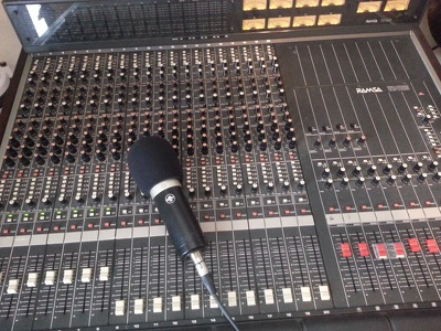 Mix audio for your song or podcast