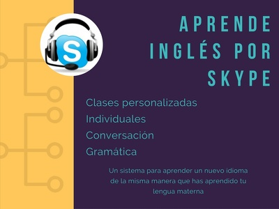 Give an hour-long English lesson via Skype / 1 hora de clases de Inglés por Skype