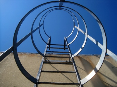 "Provide a ""Use of Ladders and Step Ladders"" risk assessment template"
