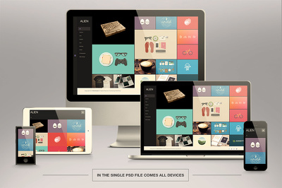 Convert your PSD Into Beautiful & Responsive HTML5 / CSS3 using Bootstrap 4