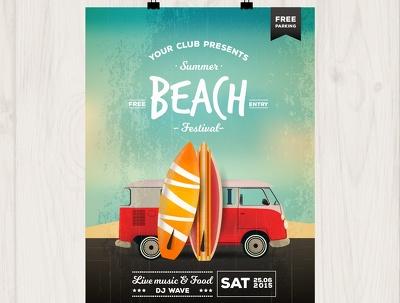 Design a single or double-sided flyer/brochure/poster/leaflet/invitation