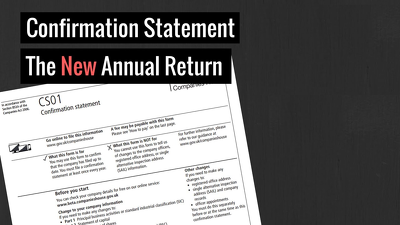 File your company annual Confirmation Statement with Companies House