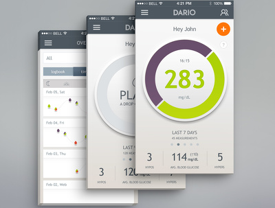 Design professional mobile app screens For Android or iOS
