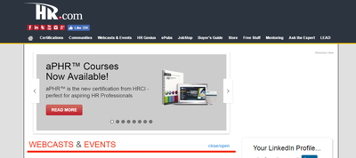 Publish Guest Post with Link on HR.com DA 74