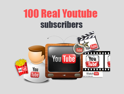 100 Real Youtube subscribers