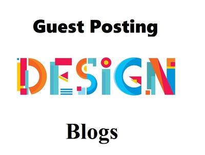 Write a guest post on Behance a DA93 Design Blog