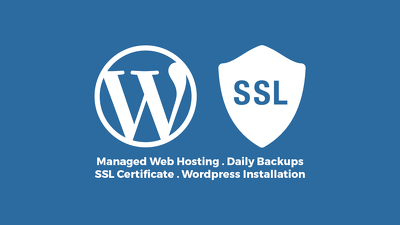 Provide Fast Secure Wordpress Web Hosting With SSL Certificate