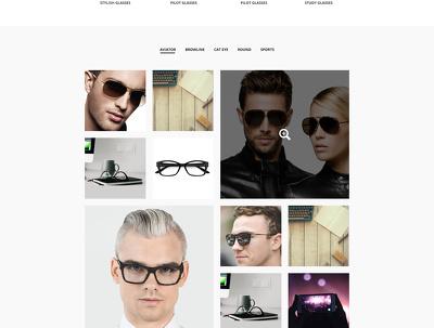 Design a top quality single landing page psd