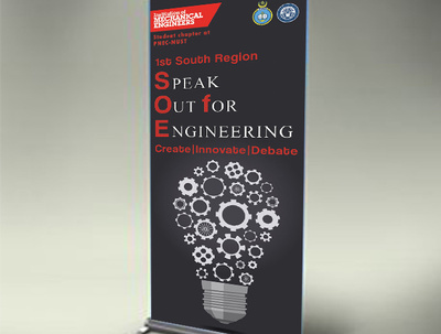 Design you profesional/classy roller banner with unlimited revisions