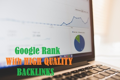 ***TOP Google Rankings*** With My All-In-One High Quality Backlinking Package