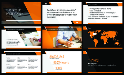 Create a PowerPoint Presentation (Editable) or Template or Redsign Presentation