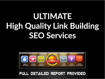 Create 160+ High PR Backlinks including PR8 To PR1