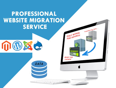 Transfer WordPress / Migrate Joomla / Drupal / Magento / Restore and Backup Website