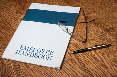 Produce a bespoke employee handbook