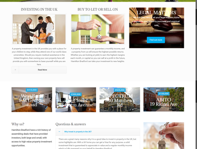 Develop professional Wordpress 8 pages responsive website with video guide line.