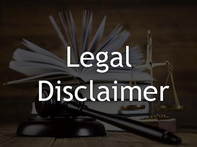 Write a Legal Disclaimer