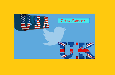 1500 UK USA Twitter Follower OR Re-tweet OR Favorites