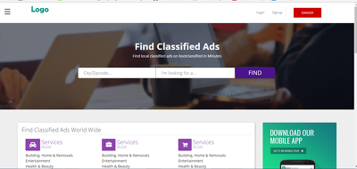 Create fully featured and managed CLASSIFIED website
