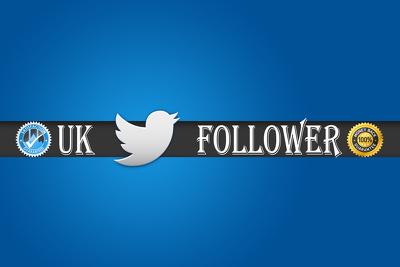 1000 HQ Twitter Followers USA/UK or 500  SoundCloud Followers Social Media Marketing