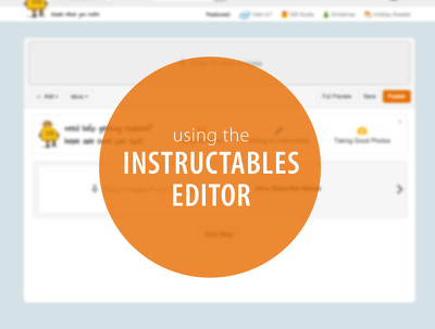Publish Guest Post on Instructables DA88 PA90