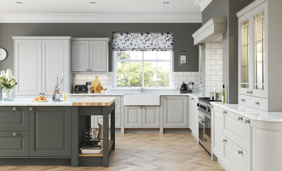 Create a professional kitchen design with revision