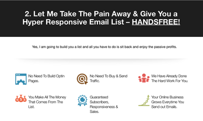 Build your email list by 1000 Subscribers