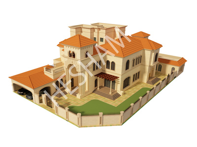 Provide An architectural concept design of your  home