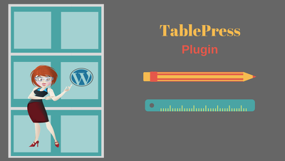 Install & setup TablePress plugin