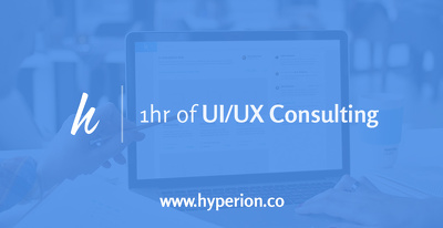 Provide 1x Hour of UI/UX Consulting