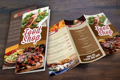 Design your beautiful restaurant Menu-recipe magazine / catalog / brochure / flyer