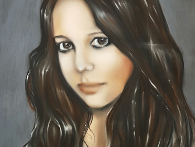 Create a beautiful pastel portrait from a photo