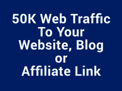 Get 50,000 real and unique website visitors from all around the world