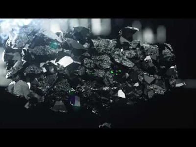 Make This Ancient Shatter Logo Reveal