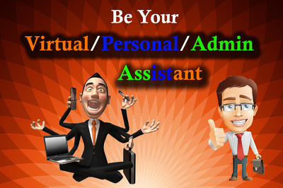 Be Your Admin/Virtual assistant/Data entry/Admin Support/ Business Support for 1 hr