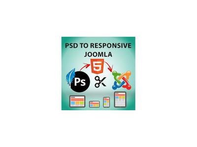 Convert PSD to responsive joomla website