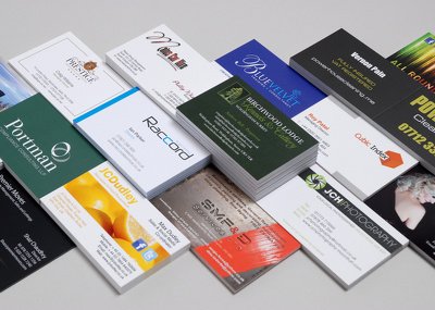 ☑ design ☑ print ☑ deliver (singe or double side) 500 Business Cards
