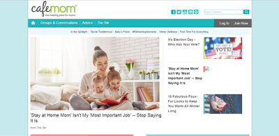 Publish a guest post on CafeMom.com  Cafemom
